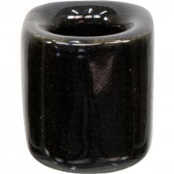 Black Ceramic Chime Candle Holder