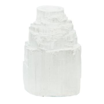 Selenite Mini Candle Holder