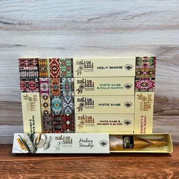 White Sage & Dragon's Blood Incense Smudge Sticks