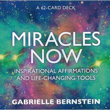 Miracles Now: Inspirational Affirmation Card Set