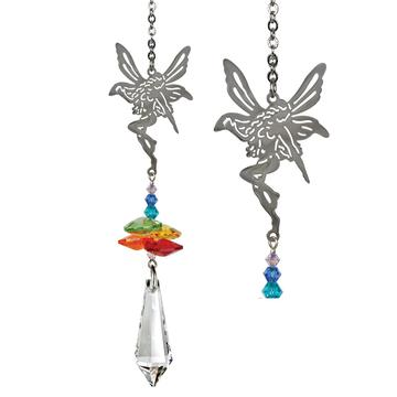 Crystal Fantasy Suncatcher, Rainbow Fairy